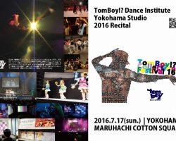 新横浜スタジオ発表会|TomBoy Collection Festival 16
